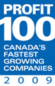 PROFIT 100: Canada's Fastest Growing Companies 2009